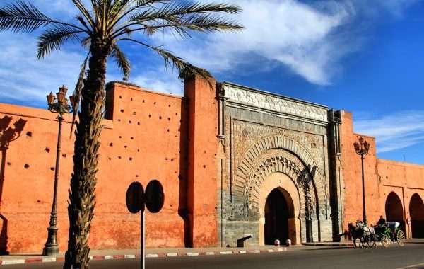 Древнее здание в Марокко