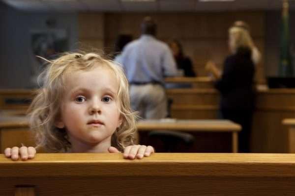 Ребёнок в суде