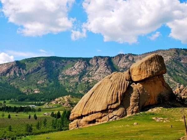 Горы в Монголии