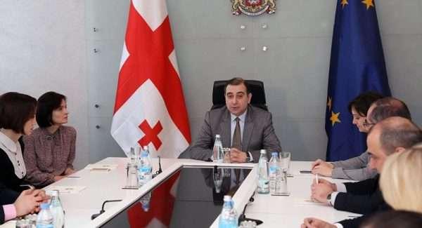 Совещание чиновников в Грузии