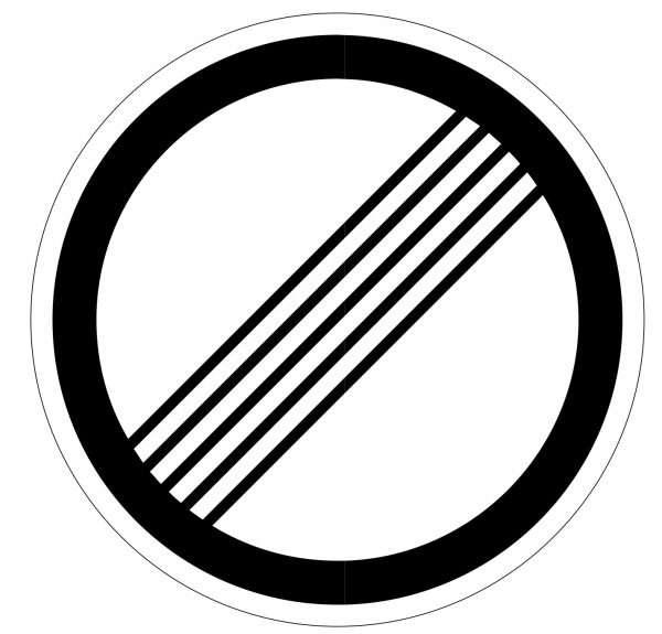 Дорожный знак «Конец всех ограничений»