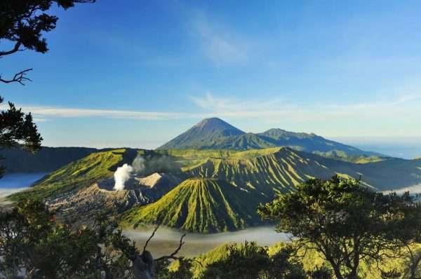 Индонезийский пейзаж